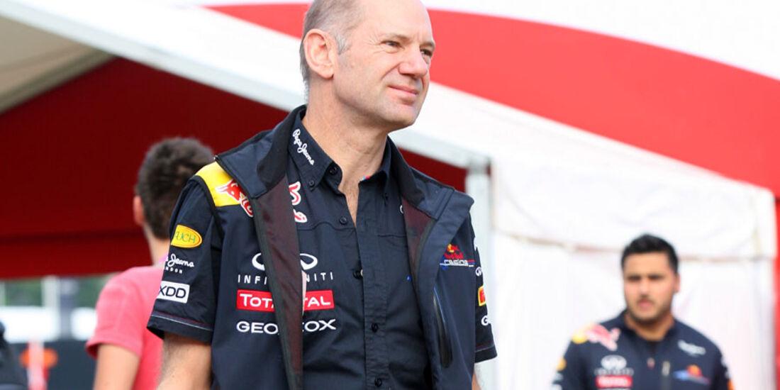 Adrian Newey GP Spanien 2011