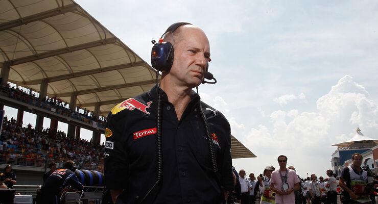 Adrian Newey GP Türkei 2010