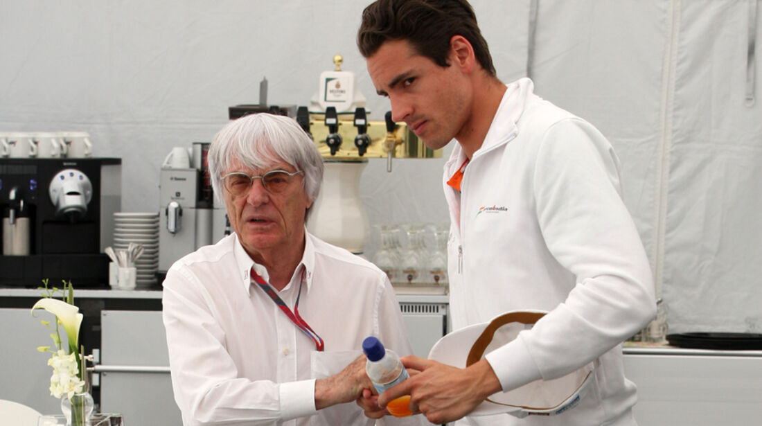 Adrian Sutil & Bernie Ecclestone