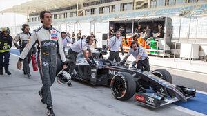 Adrian Sutil - Bilderkiste Bahrain 2014