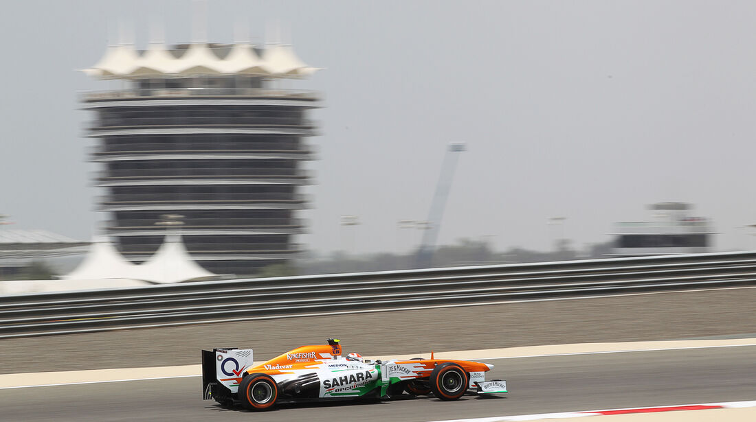 Adrian Sutil - Force India - Formel 1 - GP Bahrain - 19. April 2013