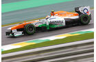 Adrian Sutil - Force India - Formel 1 - GP Brasilien - 22. November 2013