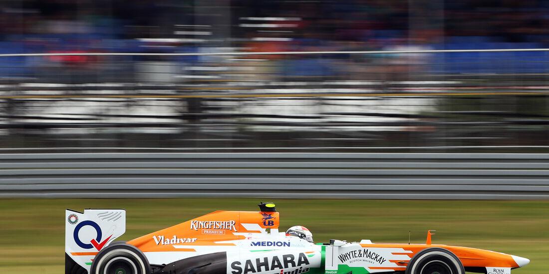 Adrian Sutil - Force India - Formel 1 - GP Deuschland - 5. Juli 2013