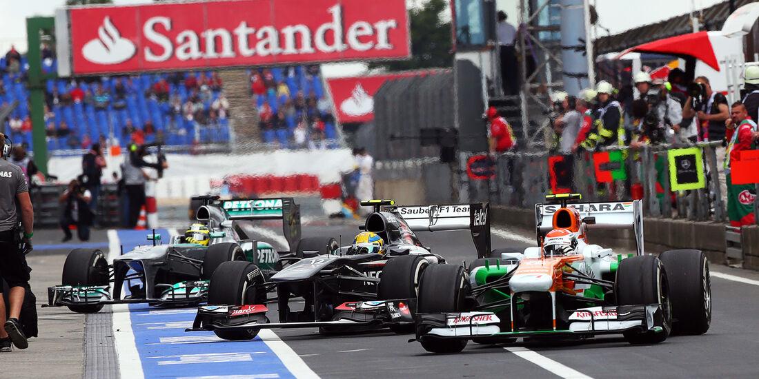 Adrian Sutil - Force India - Formel 1 - GP Deutschland - 5. Juli 2013