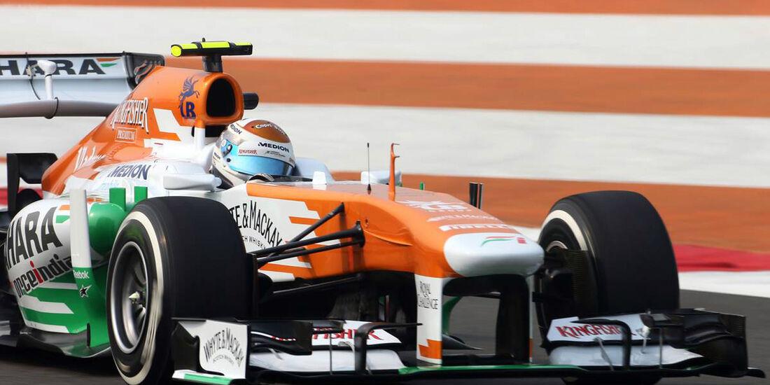 Adrian Sutil - Force India  - Formel 1 - GP Indien - 25. Oktober 2013
