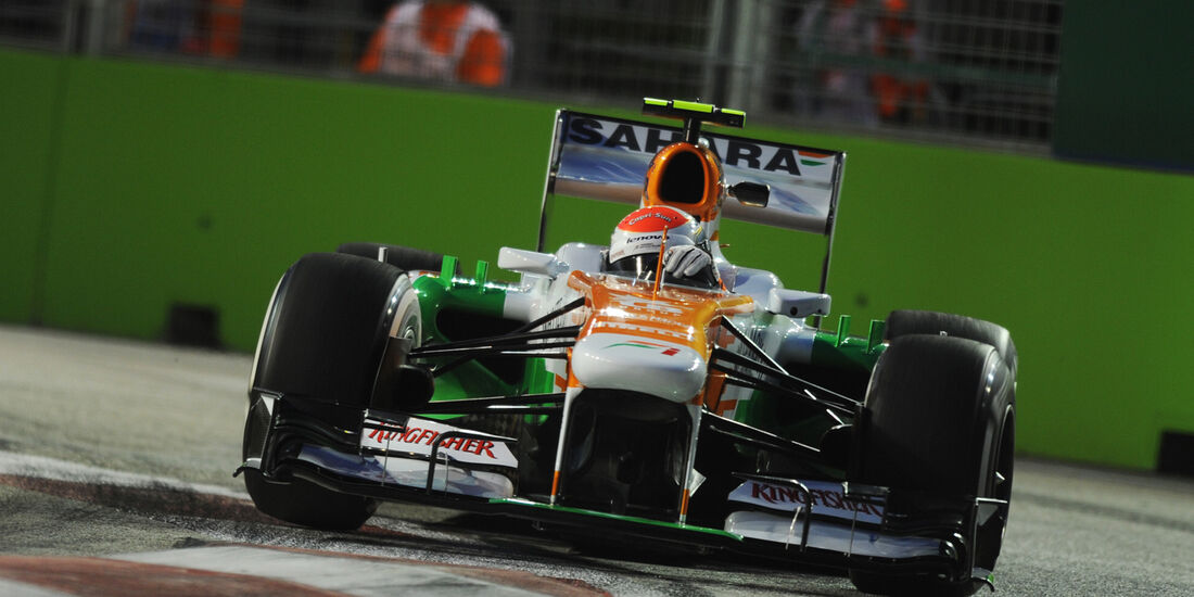 Adrian Sutil - Force India - Formel 1 - GP Singapur - 20. September 2013