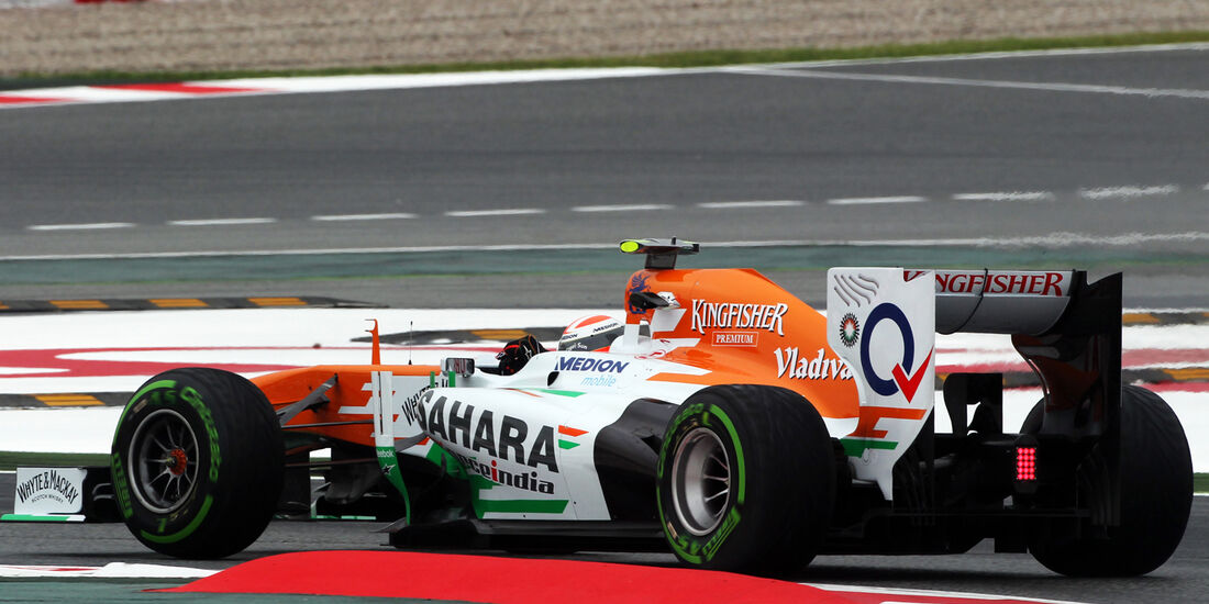 Adrian Sutil - Force India - Formel 1 - GP Spanien - 10. Mai 2013