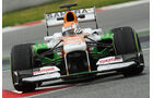 Adrian Sutil, Force India, Formel 1-Test, Barcelona, 01. März 2013