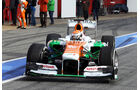Adrian Sutil - Force India - Formel 1 - Test - Barcelona - 2. März 2013