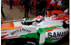 Adrian Sutil - Force India - Formel 1 - Test - Barcelona - 21. Februar 2013