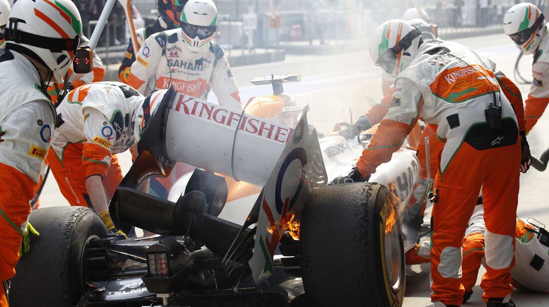 Adrian Sutil - Formel 1 - 2013