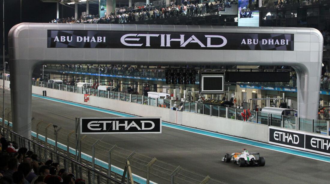 Adrian Sutil GP Abu Dhabi 2011