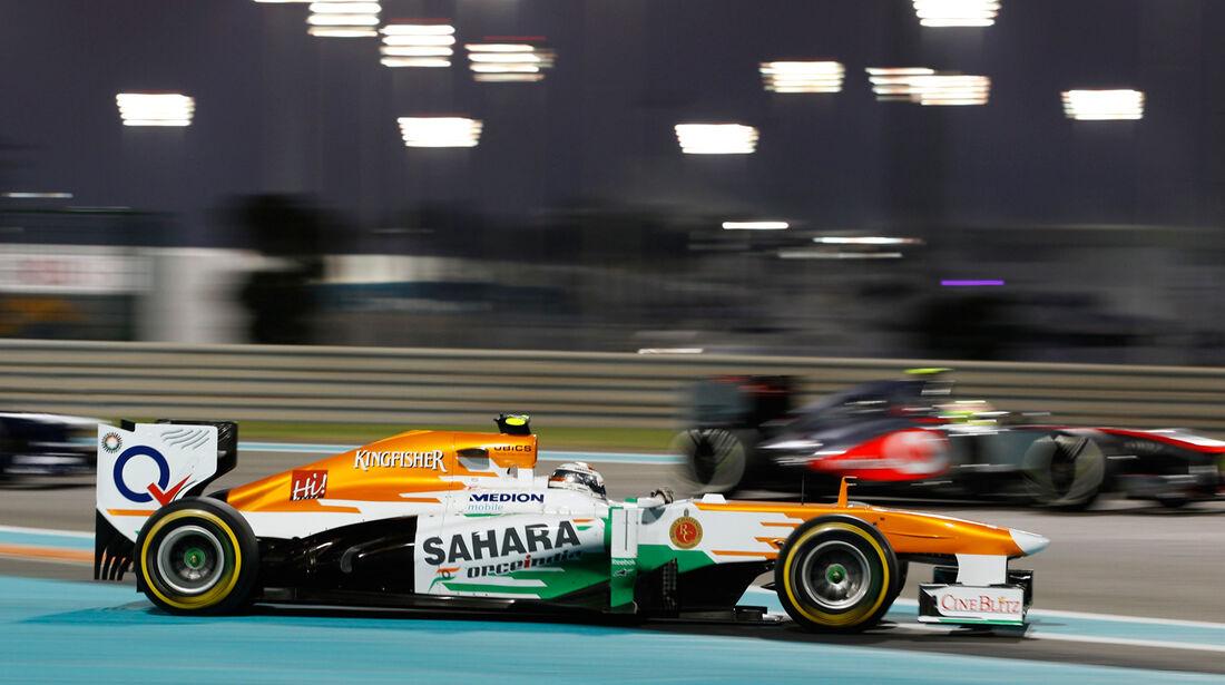 Adrian Sutil - GP Abu Dhabi 2013