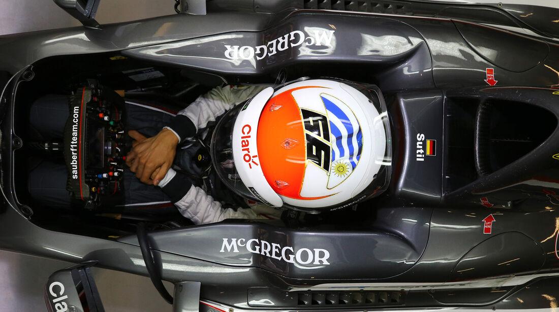 Adrian Sutil - GP China 2014
