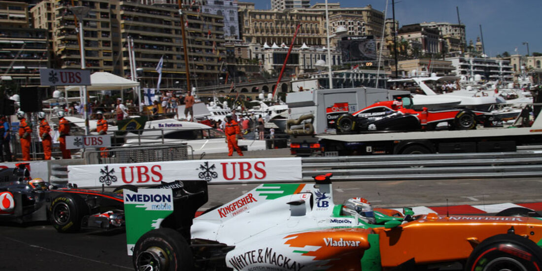 Adrian Sutil GP Monaco 2011