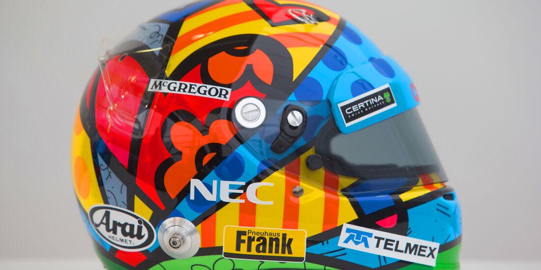 Adrian Sutil - Helm GP Monaco 2014