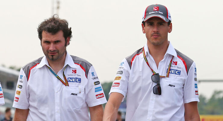 Adrian Sutil - Sauber - Formel 1 - GP Italien - 4. September 2014