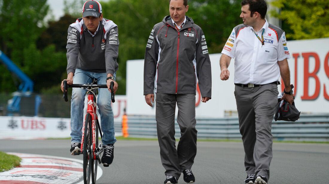 Adrian Sutil - Sauber - Formel 1 - GP Kanada - Montreal - 5. Juni 2014