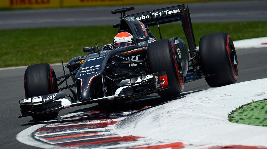 Adrian Sutil - Sauber - Formel 1 - GP Kanada - Montreal - 7. Juni 2014