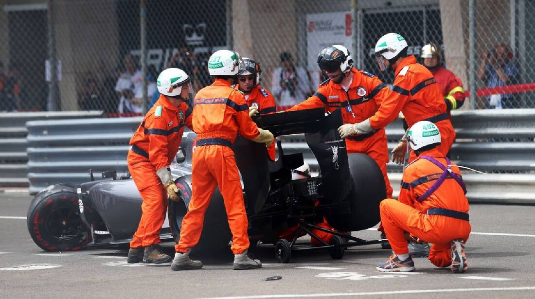 Adrian Sutil - Sauber  - Formel 1 - GP Monaco - 25. Mai 2014