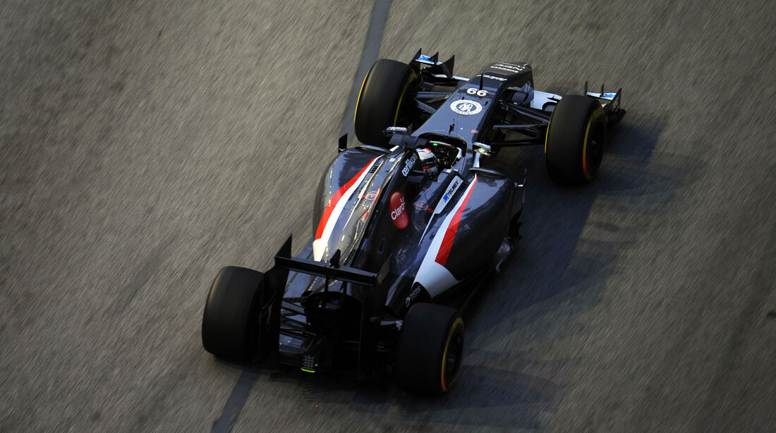 Adrian Sutil - Sauber - Formel 1 - GP Singapur - 19. September 2014
