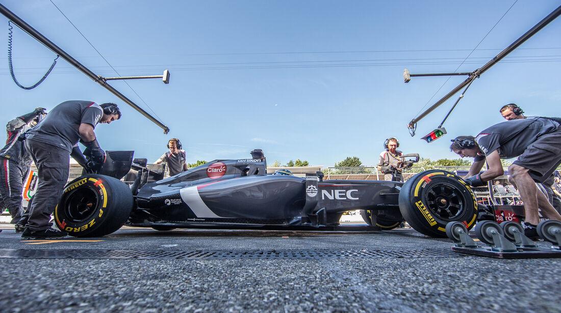 Adrian Sutil - Sauber - GP Deutschland 2014