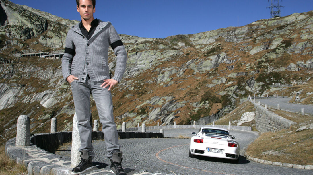 Adrian Sutil & Techart Porsche GT2