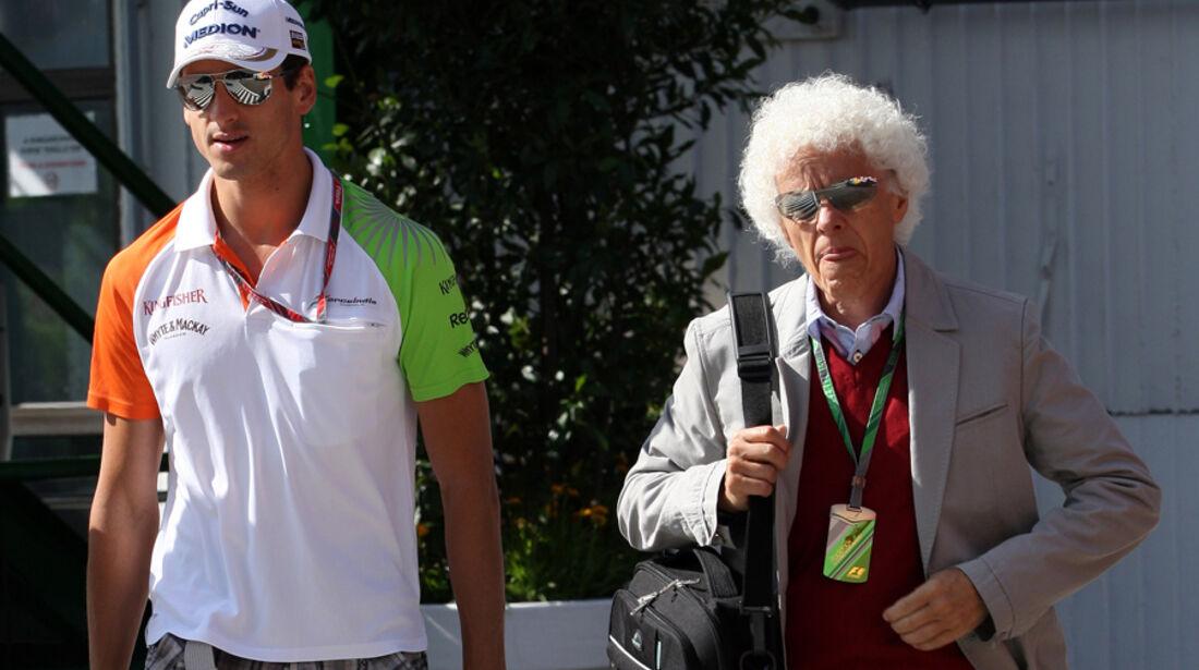 Adrian Sutil & Vater 2011