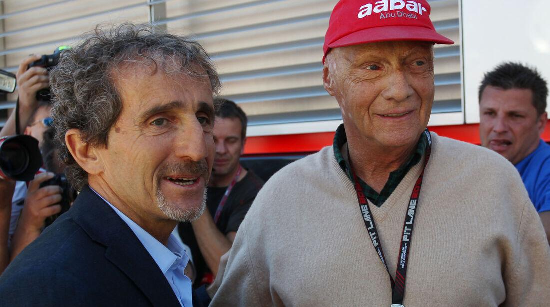 Alain Prost - GP Monaco 2013 - VIPs & Promis
