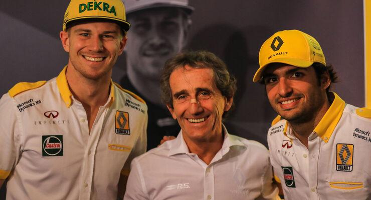 Alain Prost - Renault - Formel 1 - Hülkenberg - Sainz