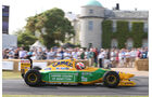Alex Brundle - Benetton B192 - Goodwood 2013