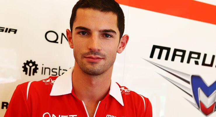 Alexander Rossi - Marussia - 2014