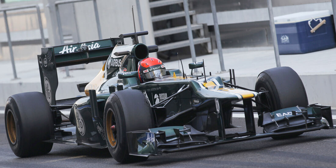 Alexander Rosso - Caterham - Young Driver Test - Abu Dhabi - 8. November 2012