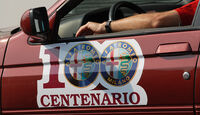 Alfa Romeo 100 Jahre Aufkleber