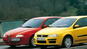 Alfa Romeo 147 1.6 Eco, Fiat Stilo 1.6 16V