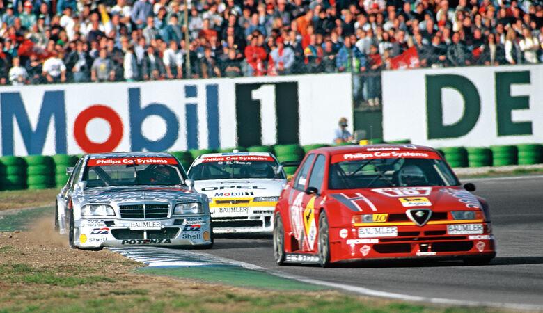 Alfa Romeo 155, Mercedes C 180, DTM
