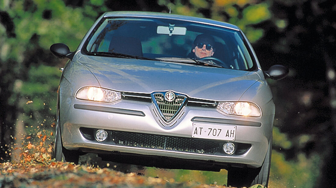 Alfa Romeo 156, Baujahr 1997-2005