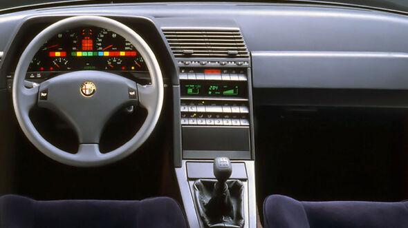 Alfa Romeo 164 Mittelkonsole