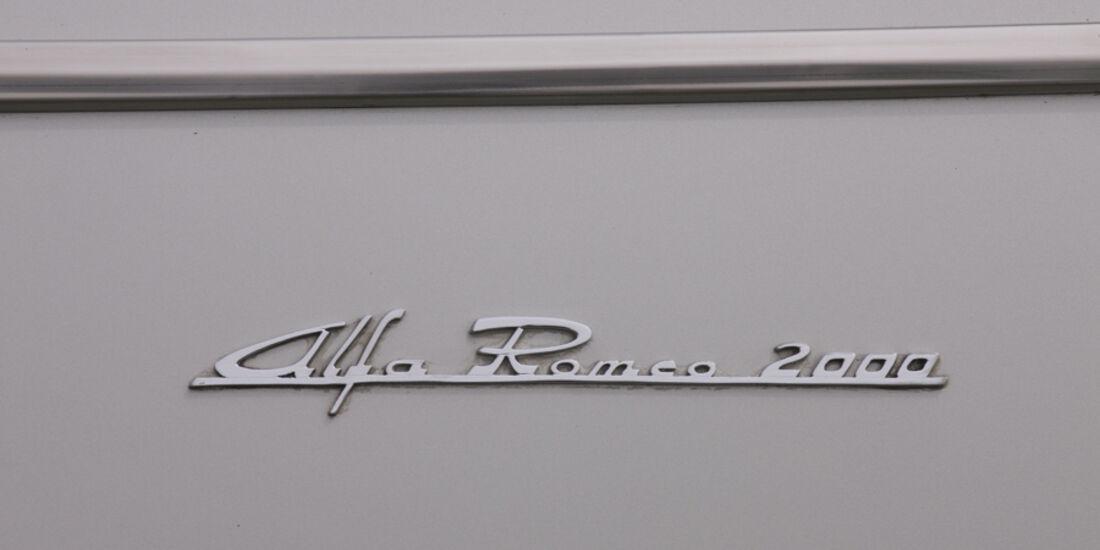 Alfa Romeo 2000 S Vignale-Coupé (1958), Logo Alfa Romeo 2000