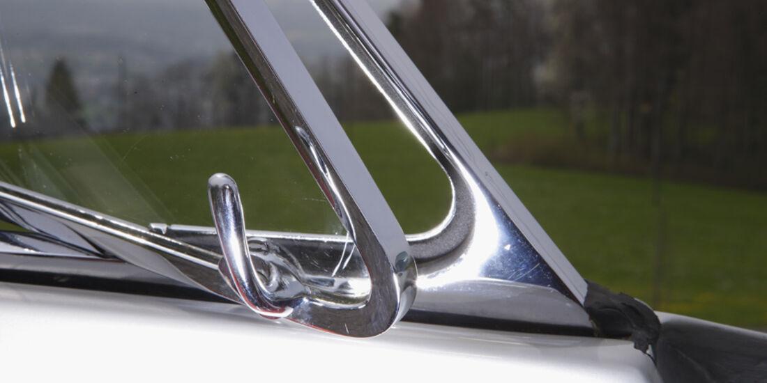 Alfa Romeo 2000 S Vignale-Coupé (1958), Seitenfenster