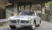 Alfa Romeo 2000 S Vignale-Coupé (1958), Vorderseite seitlich rechts