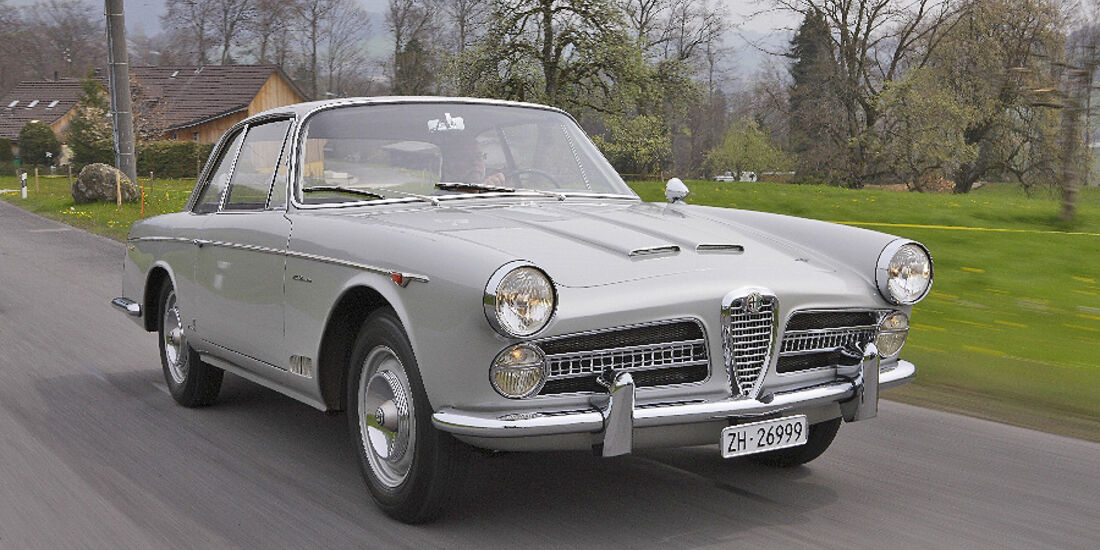 Alfa Romeo 2000 S Vignale