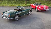 Alfa Romeo 2600 Spider, Alfa Romeo Giulia 1600 Spider, Heckansicht