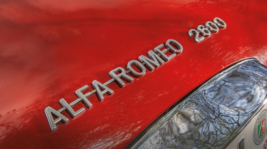 Alfa Romeo 2600 Spider, Typenbezeichnung