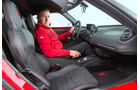 Alfa Romeo 4C, Fahrersitz, Cockpit