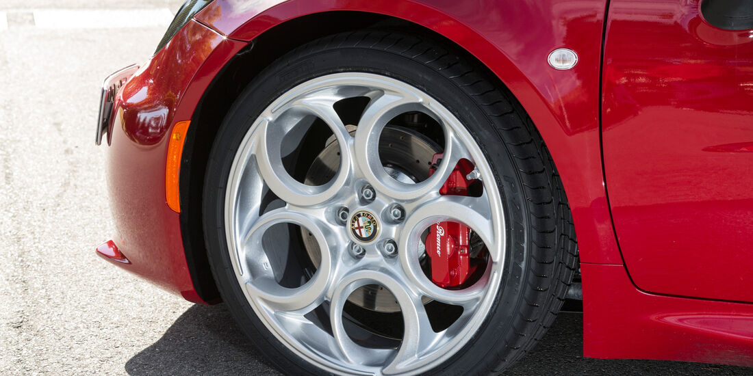Alfa Romeo 4C, Rad, Felge, Bremse