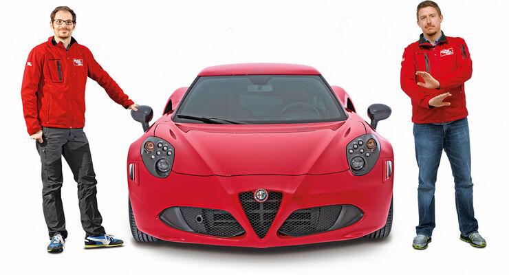 Alfa Romeo 4C, Sebastian Renz, Jens Dralle