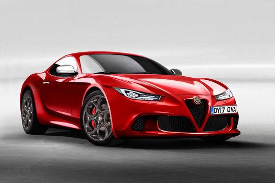 Alfa Romeo 6C 2020 Retusche