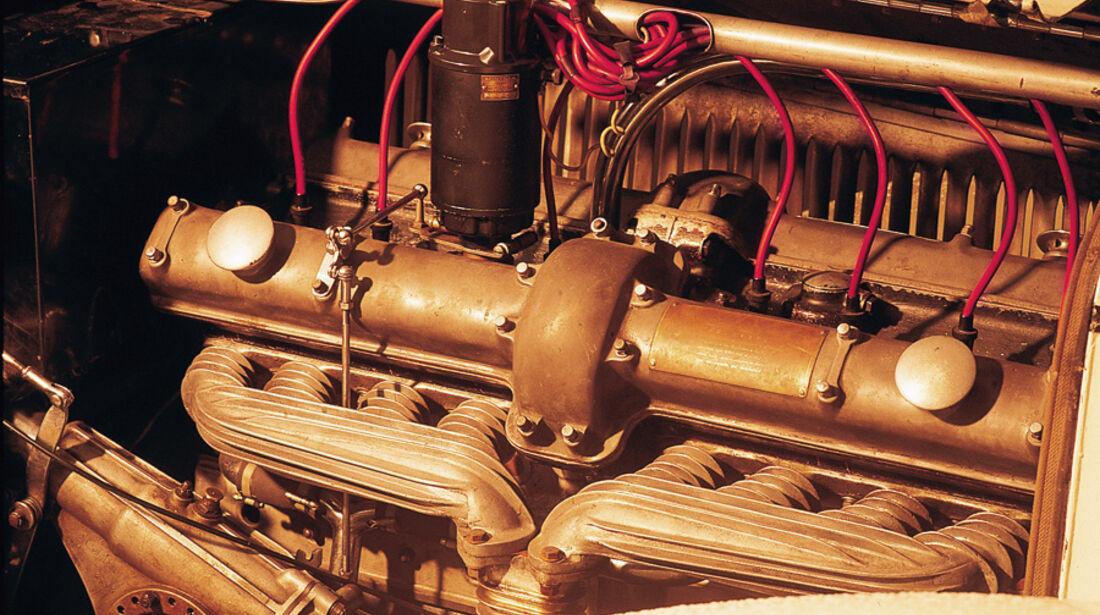 Alfa Romeo 8C 2300 Motor