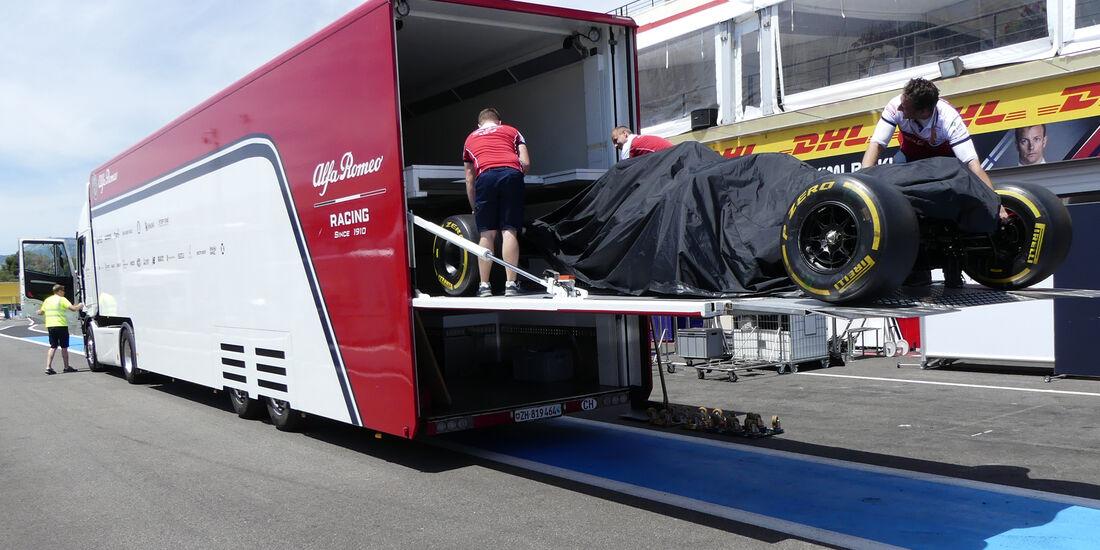 Alfa Romeo - Formel 1 - GP Frankreich - Le Castellet - 19. Juni 2019